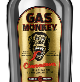 Gas Monkey Cinnamon Flavored Tequila