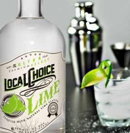 Local Choice Lime Flavored Tequila
