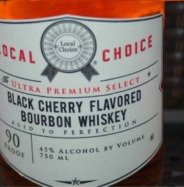 Black Cherry Flavored Bourbon Whiskey